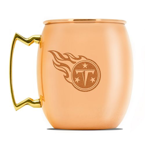 Tennessee Titans Copper Moscow Mule Mug