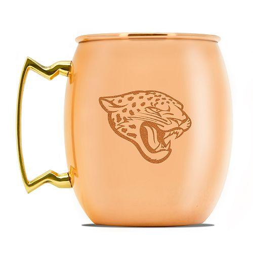 Jacksonville Jaguars Copper Moscow Mule Mug