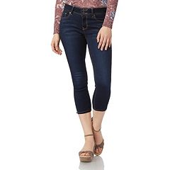 Juniors' Wallflower Insta Soft Skinny Crop Jeans