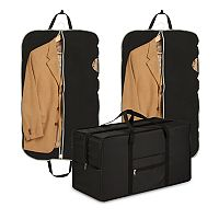 Honey-Can-Do Suit & Duffel Bag Travel Storage Set