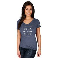 Women's Majestic Milwaukee Brewers Cut Off Tee