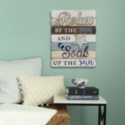 "Stratton Home Decor ""By The Sea"" Coastal Wall Decor"