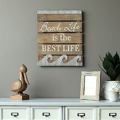 Stratton Home Decor 'Beach Life' Coastal Wall Decor
