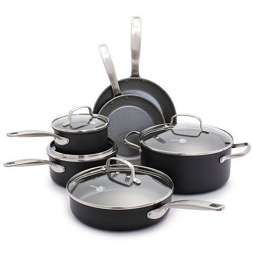 GreenPan Chatham 10-pc. Nonstick Ceramic Cookware Set