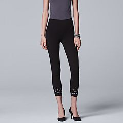 Women's Simply Vera Vera Wang Grommet Skimmer Leggings