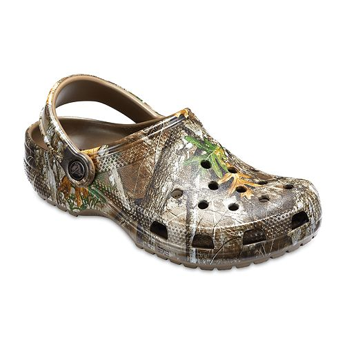 Crocs Classic Realtree Edge Men's Camouflage Clogs