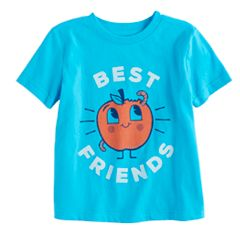 Baby Boy Jumping Beans® 'Best Friends' Apple Graphic Tee