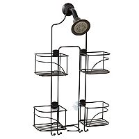 Zenna Home Expandable Over-the-Showerhead Bath Caddy