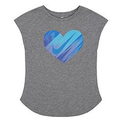 Toddler Girl Nike Gradient Heart Graphic Tee
