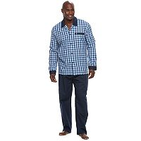 Big & Tall Jockey Woven Pajama Set