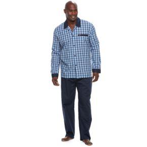 Big & Tall Jockey Woven Pajama Set