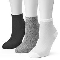 Women's SONOMA Goods for Life™ 3 pkMarled Ankle Socks