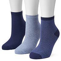 Women's SONOMA Goods for Life™ 3-pk. Marled Ankle Socks