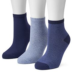 Women's SONOMA Goods for Life™ 3-pk. Marled Ankle Socks
