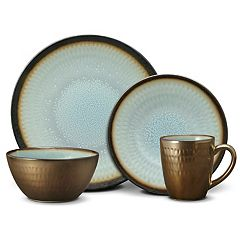 Gourmet Basics Anastasia Embossed 16 pc Dinnerware Set