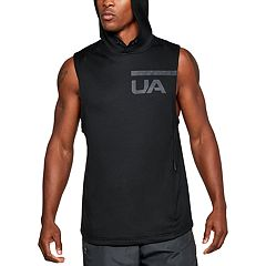 Men's Under Armour Terry Sleeveless Hoodie
