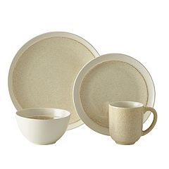 Gourmet Basics Jocelyn Cream Speckle 16 pc Dinnerware Set