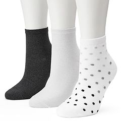 Women's SONOMA Goods for Life™ Pin Dot Ankle Socks