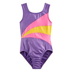 Girls 4-14 Jacques Moret Colorblock Leotard