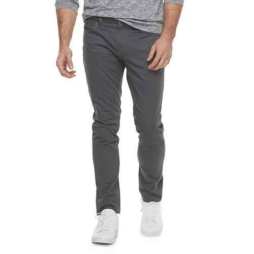 Men's Marc Anthony Slim-Fit Brushed Sateen Pants
