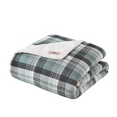 Woolrich Tasha Oversized Sofstpun Down-Alternative Throw