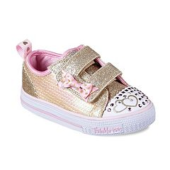 Skechers Twinkle Toes Shuffles Itsy Bits Toddler Girls' Light Up Shoes
