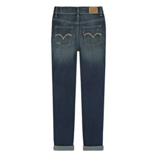Girls 7-16 Levi's Destructed Rolled Cuff Girlfriend Jeans