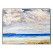 New View Beach Scene Canvas Wall Art