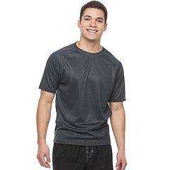 Men's ZeroXposur Island Heathered Rash Guard Swim Tee
