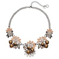 Simply Vera Vera Wang Flower Statement Necklace