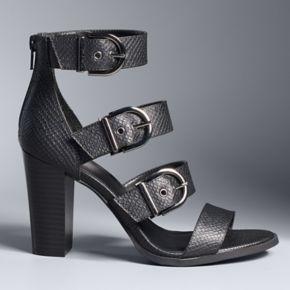 Simply Vera Vera Wang ... Amsterdam Women's High Heel Sandals