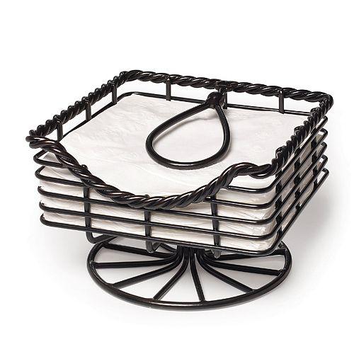 Gourmet Basics Rope Napkin Basket