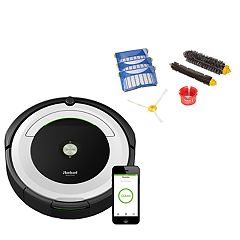 iRobot Roomba 695 WiFi Connected Robotic Vacuum & Replenishment Kit