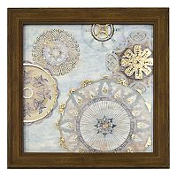 New View Metallic Moroccan Breeze Framed Wall Art