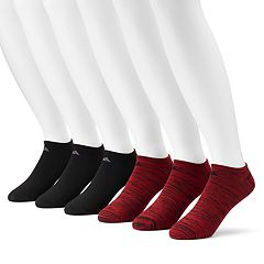 Big & Tall adidas 6-pack Superlite climalite No-Show Socks