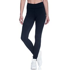 Women's Gaiam Poppy Moto Leggings