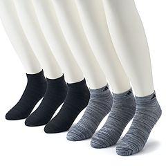 Big & Tall adidas 6-pack climalite Superlite Low-Cut Socks