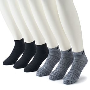 Big & Tall adidas 6-pack climalite Superlite Low-Cut Socks