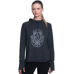 Women's Gaiam Carmen Long Sleeve Graphic Hoodie