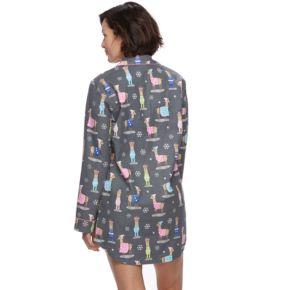 Women's Star & Skye Pajamas: Long Sleeve Flannel Sleep Shirt