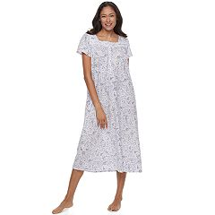 Women's Croft & Barrow® Pajamas: Knit Short Sleeve Nightgown