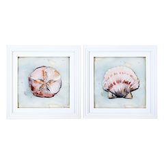 New View Ocean Finds Framed Wall Art 2-piece Set