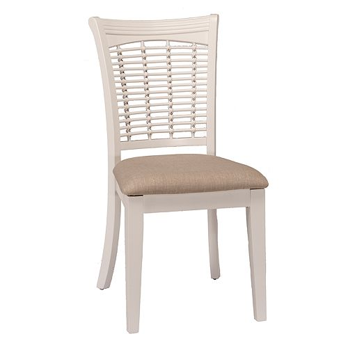Hillsdale Furniture Bayberry White Dining Chair 2-piece Set