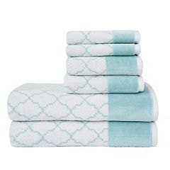 Loft by Loftex Lattice Luxe 6-piece Bath Towel Set