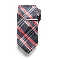 Men's Apt. 9® Patterned Tie with Tie Bar