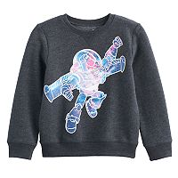 Disney / Pixar Toy Story Boys 4-7x Buzz Lightyear Fleece Pullover Sweatshirt by Jumping Beans®