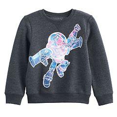 Disney / Pixar Toy Story Boys 4-7x Buzz Lightyear Fleece Pullover Sweatshirt by Jumping Beans®