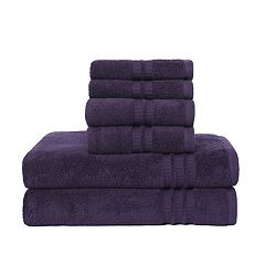 Loft by Loftex Modern Home Trends 6 pc Bath Towel Set
