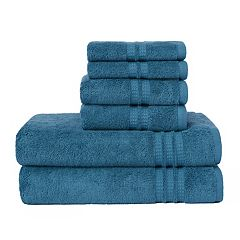 Loft by Loftex Modern Home Trends 6-piece Bath Towel Set