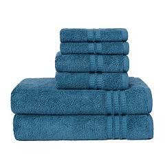 Loft by Loftex Modern Home Trends 6 pc Bath Towel Set